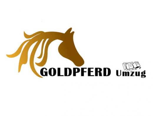 Goldpferd Umzug Logo