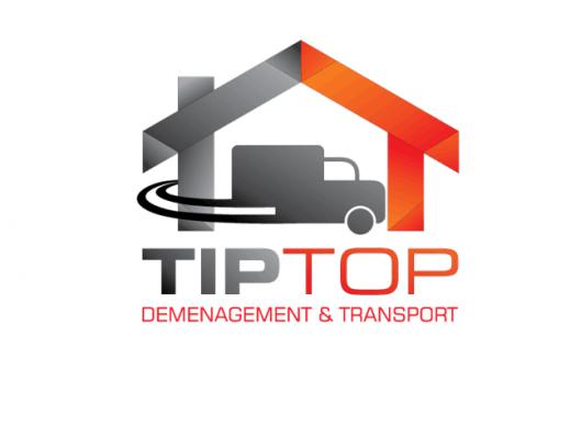 Tiptop demenagement & transport Logo